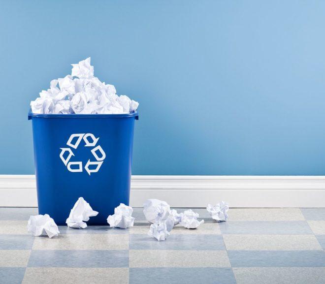 4 Mitos del papel reciclado