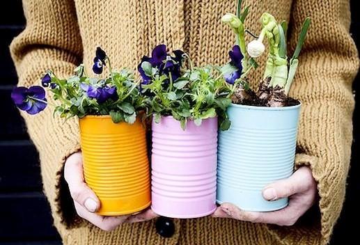 6 ideas para reciclar latas