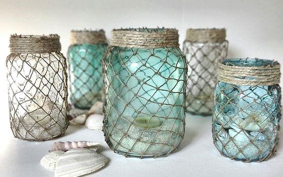 7 ideas para reciclar frascos de vidrio